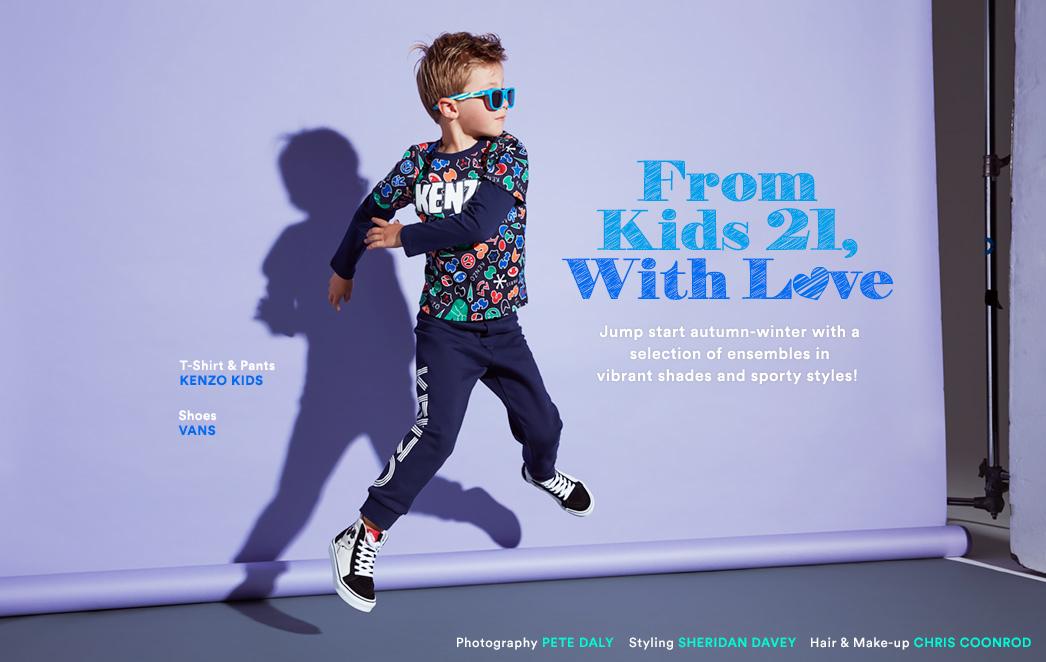 From Kids 21, With Love
