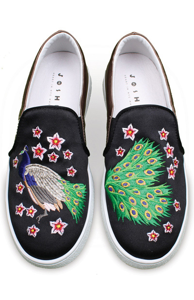 05ad03c5ecc0 Celebrities swear by the street couture style of Joshua Sanders. Designed  in New York and crafted in Italy