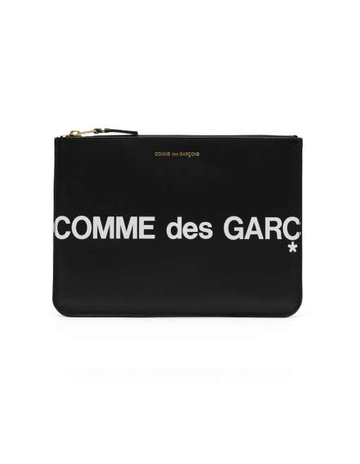 Huge Logo Big Coin Pouch  - Black