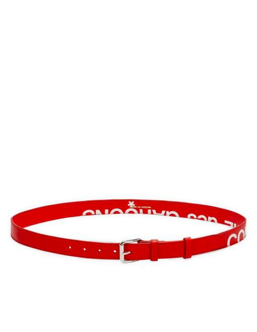 Huge Logo Belt - Red