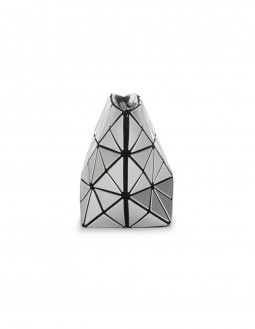 Prism Basic Cosmetic Pouch - Silver