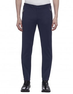 Lightweight Clean Face Interlock Jogger - Silicone Gel Logo - Charcoal