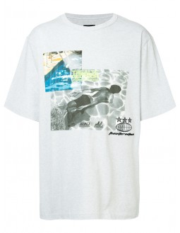Graphic Printed T-shirt - Grey