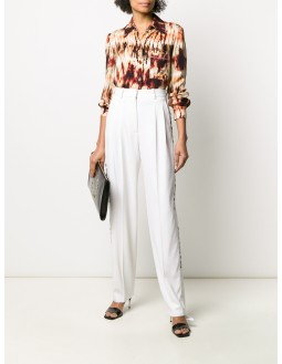 Pleated Pants - Off White