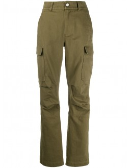 Cotton Twill Cargo Pant - Olive
