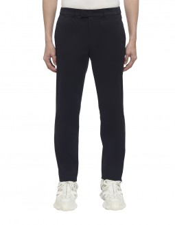 Brushed Face Chino Pants - Blue