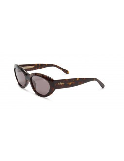Sally Acetate Sunglasses - Brown