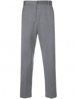 Unconstructed Chinos - Grey