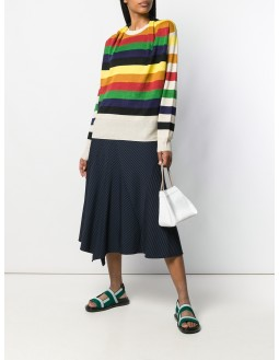 Multi-colour Striped Knit Top - Multi
