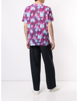 Floral Back Detailed T-shirt - Purple