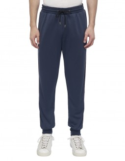 Multistripe Tape Joggers - Blue