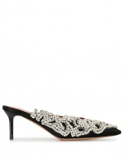 Pump With Strass - Black