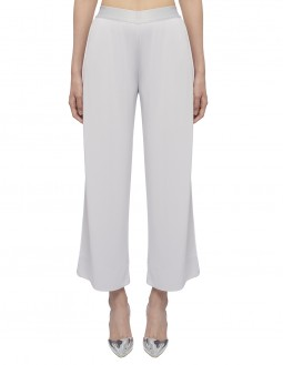 Soft Matte Jersey Elasticated Pants - Grey