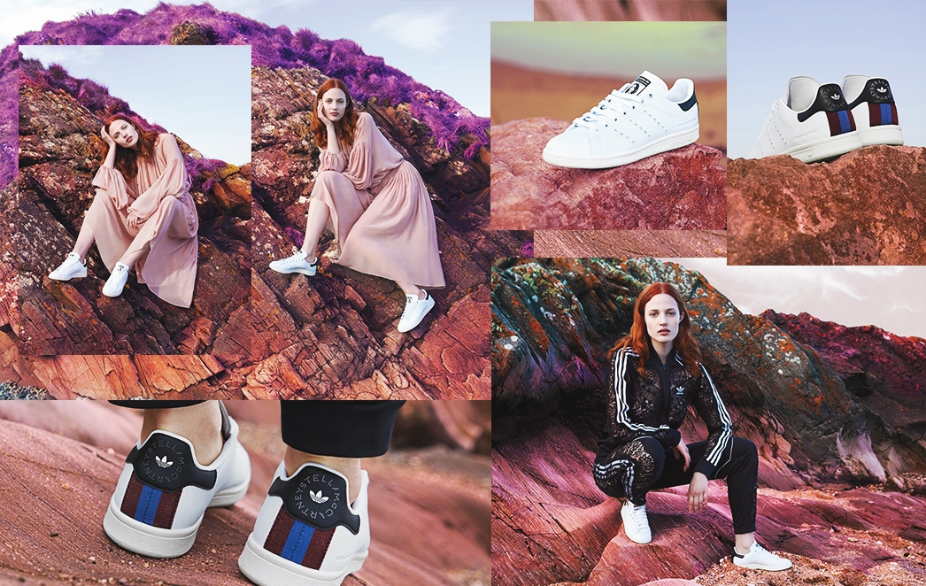 7547c95a8aa97d Everyone s favourite pair of sneakers have been given a sustainable twist.  Introducing the Stella Stan Smith sneakers