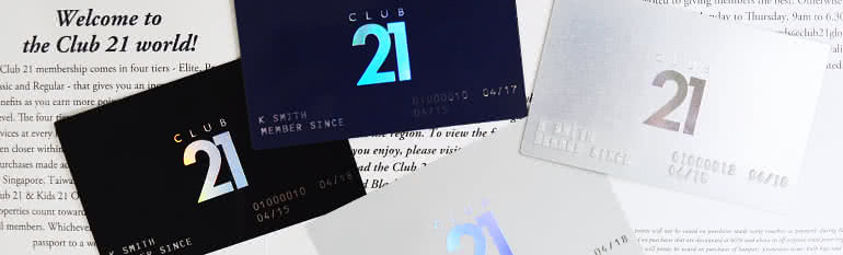 Image result for club21 rewards
